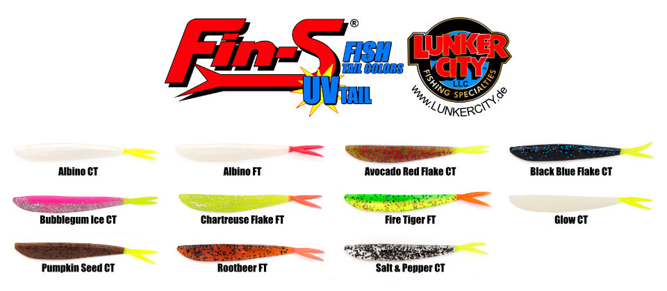 Fin-S Fish Farbtabelle Tail-Colors