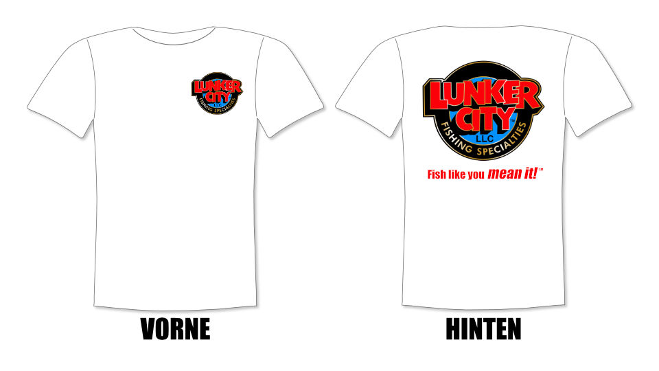 Lunker City T-Shirt weiß