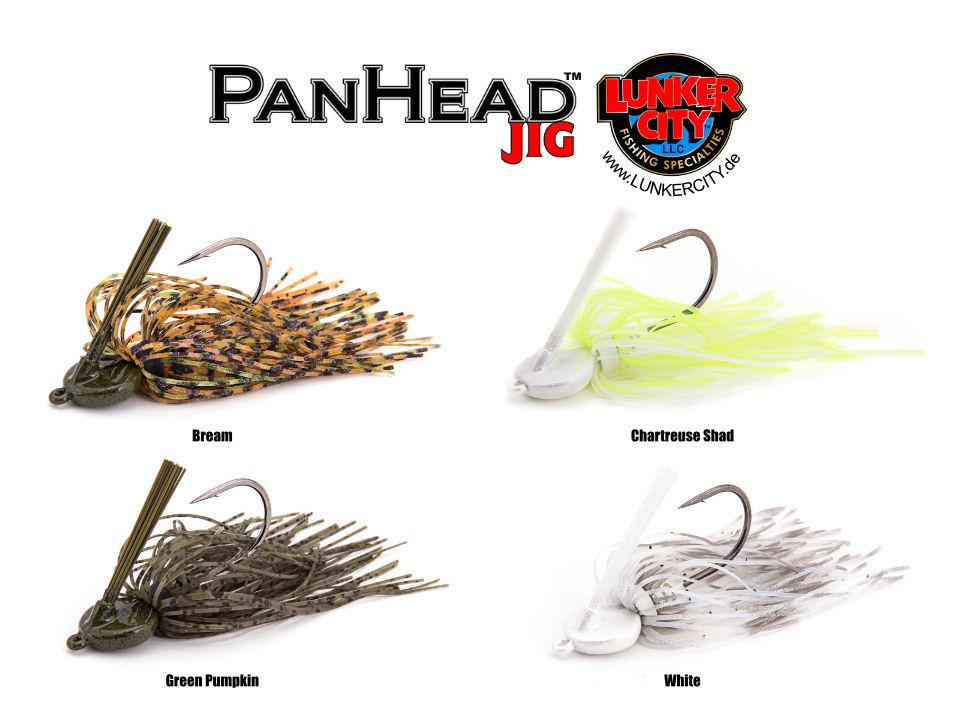PanHead Jig Farbtabelle